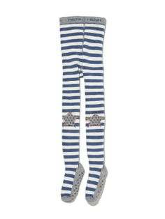 Non-Slip Star Stripe Tights by Melton at Gilt