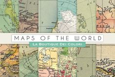 Maps of the World Digital Papers