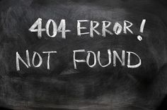Blogvogel: Error 404 - you`re welcome