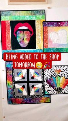 Lesbian Art, Lesbian Pride, Lesbian Wedding, Queer Art, Rainbow Wedding, Red Lips, Handmade Items, Etsy Shop, Gift Ideas