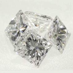 0.07 ct F Color VS2 Clarity 2.37x2.16x1.59 mm Loose Princess Cut Natural Diamond