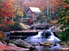 Google Image Result for http://t.wallpaperweb.org/wallpaper/known_places/1600x1200/Glade_Creek_Grist_Mill_Babcock_State_Park_West_Virginia.jpg