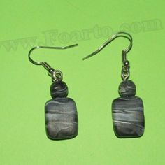 Handmade polymer clay grey earrings Color - grey. Length - 42 mm Price: $9 #uniqueearrings #grayearrings Unique Earrings, Earrings Handmade, Drop Earrings, Handmade Polymer Clay, Gray Color, Grey, Jewelry, Gray, Jewlery