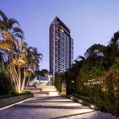 Baan Plai Haad is a sea-side condominiumin Pattayaby Sansiri. TROP design the landscape.Steven J. Leach, Jr. + Asso ciates Limited (SL+A) is the architect.  Photography team » W Workspace ...