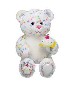 16 in. Confetti Cupcake Bear | Build-A-Bear