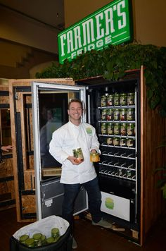 Farm-Fresh Salads … in a Vending Machine