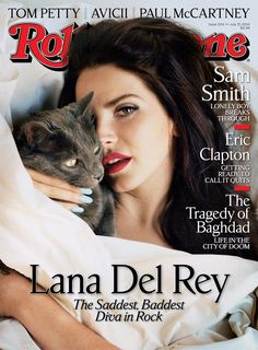Lana Del Rey Poses in Bed for Rolling Stone Cover