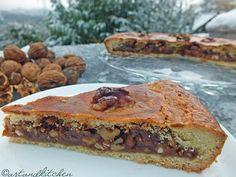 Engadiner Nusstorte (or Bündner Nusstorte) a Swiss Walnut Pie
