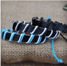 Fashion ladies bracelet braided bracelet handmade men leather bracelet   Tophandmade - Jewelry on ArtFire
