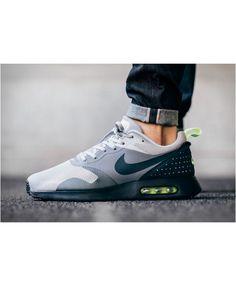 Air Max Tavas Neon Grey Black Green Shoes 32969cda1