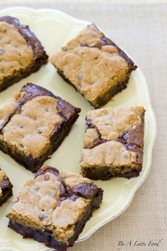 Rich, dense, and incredibly gooey, these fudgy cookie brownies are a chocolate lover's dream!