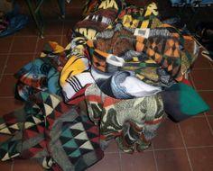 vintage retro blanket wolldecke dekens Jan 2015