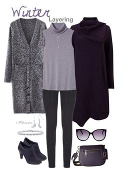 """""""Winter Layering"""" by susan0219 ❤ liked on Polyvore featuring Phase Eight, Paige Denim, Banana Republic, Marc Jacobs, Anne Klein, BERRICLE and Kendra Scott"""
