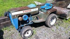 Ford Lgt 100 Lawn And Garden Tractor With 42 Deck And 42 Snow Blower Ebay
