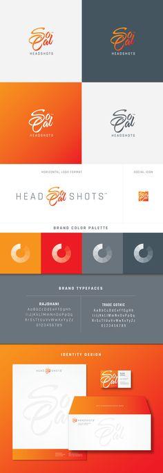 Mariyln Lou Boudior & SoCal Headshots Logo Design by Visual Lure branding