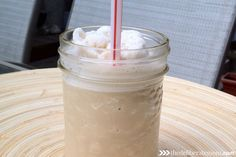 A fabulous, easy-to-make, copycat Tim Hortons' Iced Capps knock off recipe! Cold, refreshing, and delicious! Plus it's a lot cheaper to make than the original version! Cappuccino Recipe, Iced Cappuccino, Iced Coffee, No Dairy Recipes, Copycat Recipes, Snack Recipes, Drink Recipes, Dessert Recipes, Homemade Mocha