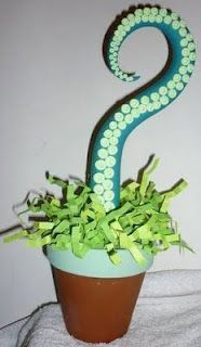 Tentacle Plant Tutorial. Great for halloween