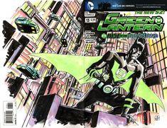 Green Lantern Batman Beyond - Dean Kotz