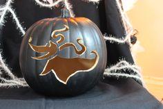 Zero nightmare before christmas pumpkin carving