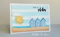 Lebílulas de colores.: Sol y playa.