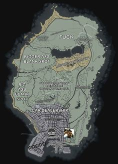 This is the basic layout of the map.