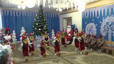 Танец гномов на новогоднем утреннике 2016 .Младшая группа.Муз. рук. Макс...