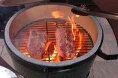 Perfect Medium Rare Beef Ribeye Steak using a Big Green Egg BBQ Grill | The 350 Degree Oven