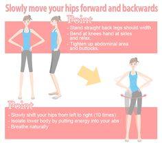 inner muscle strengthening hip movements (Sides)