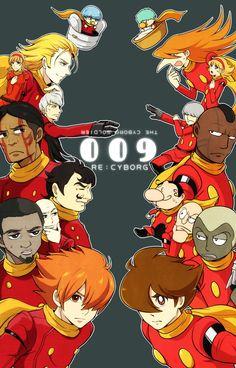 009 RE: Cyborg Anime