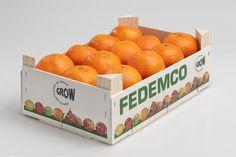 Envase marca Pitufo® 30x20 para 2,5 kilos de mandarinas Orange, Fruit, Food, Mandarin Oranges, Vegetables Garden, Hampers, Essen, Meals, Yemek