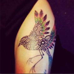 Love the design inside the bird...