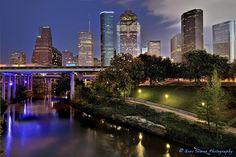 Nikon D800 Image Tests - Houston City Skyline by Gene Inman - www.geneinman.com, via Flickr