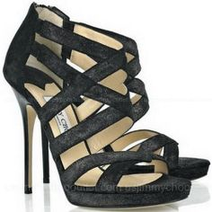 Y(^o^)Y Jimmy Choo Jewel Leather Sandals ,☞…… Marked For My Shopping Bags..
