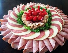 food presentation ideas at home \ food presentation . food presentation ideas at home . food presentation tips . Meat Platter, Charcuterie Platter, Meat Trays, Appetizers For Party, Appetizer Recipes, Party Recipes, Dessert Recipes, Desserts, Meat And Cheese Tray