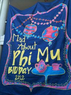 alice in wonderland themed bid day! LOVE THIS.>>>>>