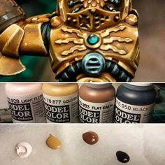 Gold Painting Tips // Alex Art Workshop