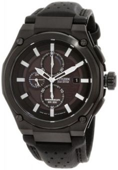Relógio Citizen Men's CA0315-01E Sport Eco-Drive Chronograph Watch #Relógio #Citizen