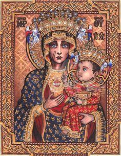 Our Lady of Czestochowa by Theophilia
