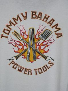 New Tommy Bahama Power Tools Tee T Shirt L