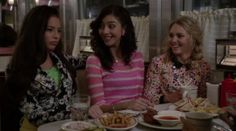 The Carrie Diaries - s02e12 This Is the Time - www.facebook.com/LinksOverBros - Donna, Maggie and Carrie