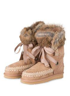 mou - Lammfell-Boots ESKIMO