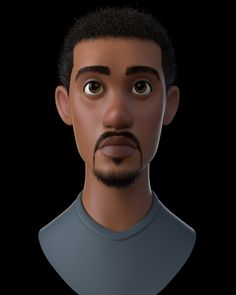 Zbrush Character, 3d Model Character, Game Character Design, Character Modeling, Character Concept, Character Art, Male Cartoon Characters, Cartoon Man, Cartoon Faces