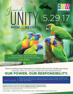 Jewish Unity Now or Never The Time Is Now, Torah, Unity, No Response, Religion, Believe, Judaism, Education, Jerusalem