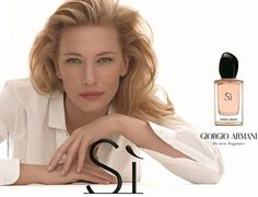 Giorgio Armani Launches New Fragrance for Women Fronted by Cate Blanchett
