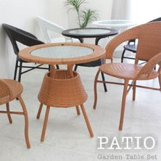 Outdoor Furniture, Outdoor Decor, Dining Chairs, Yahoo, Table, Home Decor, Products, Decoration Home, Room Decor