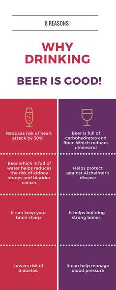 Benefits of drinking beer