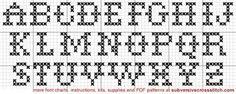 Image result for cross stitch alphabet