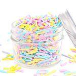 Has anyone ever made their own sprinkles? 🙋💕 #sprinkles #homemadebaking #cakedecoration #cakedecor