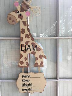 Door Hangers Hospital Newborn Ideas For 2019 Hospital Door Decorations, Hospital Door Hangers, Baby Shower Wall Decor, Baby Decor, Baby Door Hangers, Diy Door, Nursery Art, Diy Projects, Crafty