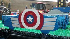 2014 Frankfort Fall Festival Parade - Captain America car #CaptainAmerica #Parade
